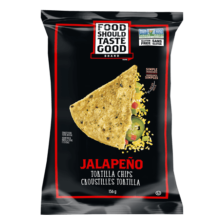 A bag of Jalapeño chips